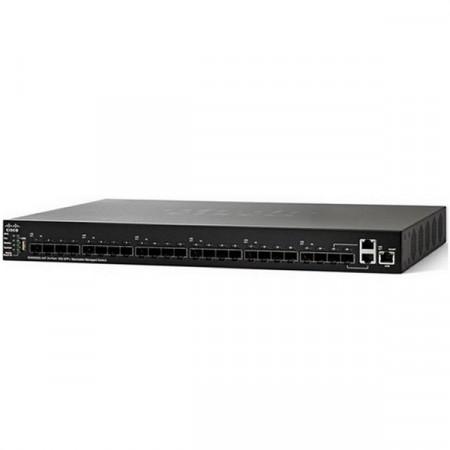 Cisco SG550XG-24F 24-Port 10G SFP+ Stackable Managed Switch