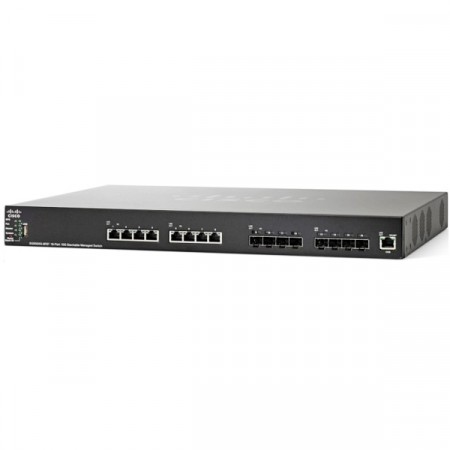 Cisco SG550XG-8F8T 16-Port 10G Stackable Managed Switch