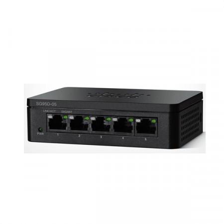 Cisco SG95D-05 Switch 5-Port Gigabit Unmanaged Desktop