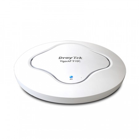 VigorAP 910C : Access Point 802.11ac, Ceiling-mount, Support PoE, Multimode AP/WDS-bridgge & repeater/Universal Repeater