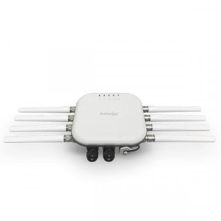 EnGenius EWS871AP Neutron 11ac Wave 2 Outdoor&Indoor Managed AP, 2.5Gbps Dual-Band 4x4 External Antennas, MU-MIMO&Beamforming, 2xGigabit LAN+PoE