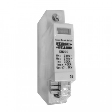 KM20C : Surge Guard Protector 40kA for IP Network, Camera and CCTV Systems