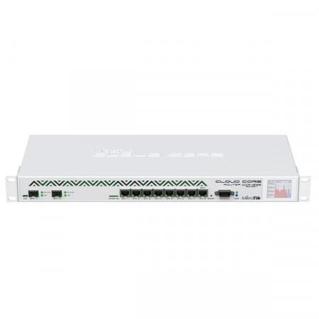 MikroTik CCR1036-8G-2S+EM Cloud Core Router Industrial Grade 8-Port Gigabit Ethernet, 2xSFP+ cages, CPU 36 cores 1.2GHz, RAM 16GB, RouterOS L6