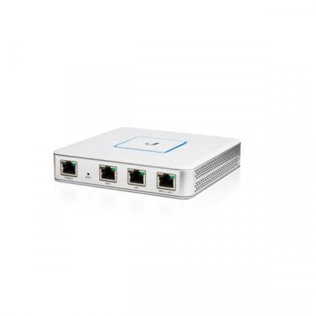 Ubiquiti USG (UniFi Security Gateway) Router 1-Port Gigabit WAN, 1-Port Gigabit LAN, 1-Port Gigabit VoIP and 1-Port Console