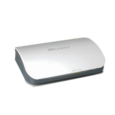 Micronet SP3362F ADSL2+ Modem Router, 1 Port RJ-11 and 1 Port LAN 10/100M Auto MDI/MDIX