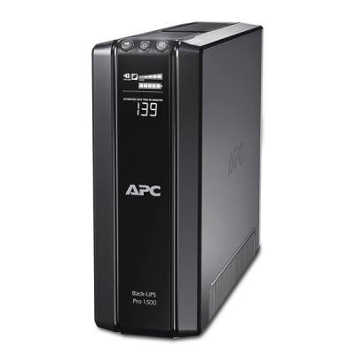 APC BR1500GI Back-UPS 1500VA, 865Watts, 230V, Multi-function LCD status and control console