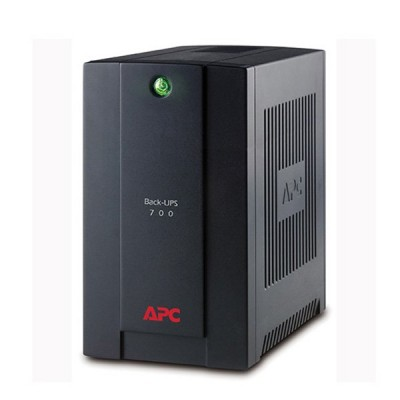 APC BX700U-MS Back-UPS 700VA, 230V, AVR, Universal and IEC Sockets + PowerChute Personal Edition - For PC Only