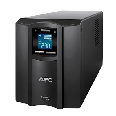 APC SMC1000I Smart-UPS,600 Watts -1000 VA,Input 230V -Output 230V, Interface Port USB