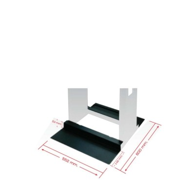 Link CN-61150 Steel Base for Open Rack (W552xD600xH53mm.)