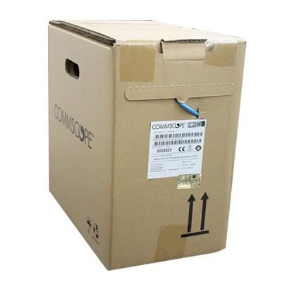 COMMSCOPE (AMP) CB-0007CM CAT 6 Indoor UTP Cable 24 AWG, Bandwidth 250MHz, CM Blue Color 305 M./Pull Box *ส่งฟรีเขต กทม.