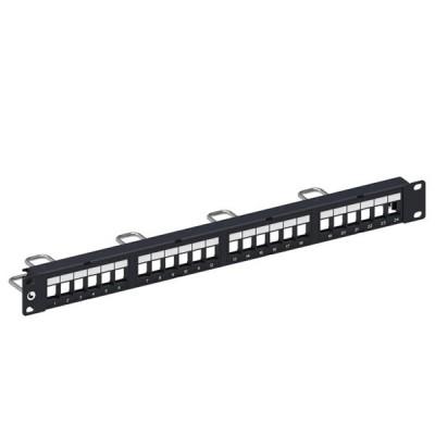 COMMSCOPE (AMP) AM-3024 Patch Panel 24 (1) Unload for CAT 5E & CAT 6