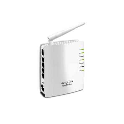 DrayTek Vigor2710ne ADSL, ADSL2/2 Modem Wireless Router + Firewall, Hight-Speed WiFI 802.11n, 4-Port 10/100Mbs LAN Switch