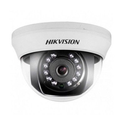 HIKVISION DS-2CE56C0T-IRMMF Analog Indoor Dome Camera HD720P, Day/Night 20m IR
