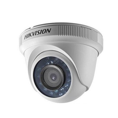 HIKVISION DS-2CE56C0T-IRPF Analog Indoor Turret Camera HD720P, Day/Night 20m IR
