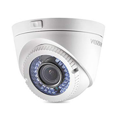 HIKVISION DS-2CE56D0T-VFIR3F Analog Turret Camera HD 1080P, Day/Night 40m IR, IP66 weatherproof