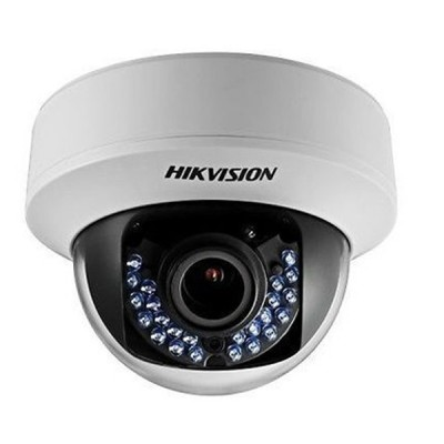 HIKVISION DS-2CE56D0T-VFIRF Analog Dome Camera HD 1080P, Indoor Day/Night 30m IR