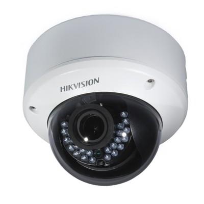 HIKVISION DS-2CE56D0T-VPIR3F Analog Dome Camera HD 1080P, Day/Night 40m IR, IP66 Weatherproof
