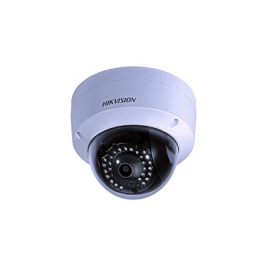 DS-2CD2110F-I : Dome IP Camera 1.3MP Full HD, CMOS, Lens 4mm, IR LED 30m, 1-Port 10/100 Ethernet PoE,  Indoor / Outdoor IP67
