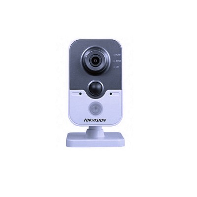 DS-2CD2410F-IW : IP CUBE 1MP WiFi Cube Network Camera Lens 2.8mm