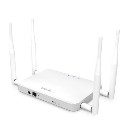 EnGenius ECB1200 Dual-Band 11ac AP Hi-Speeds 867Mbps on 5GHz, to 300Mbps on 2.4GHz, Hi-Power 630mW (28dBm) Lan Gigabit (10/100/1000Mbps)