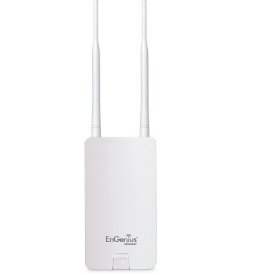 EnGenius ENS202EXT Outdoor&Indoor AP N300 2.4GHz, 2x 5dBi Detachable Antennas, 2-Port 10/100 Ethernet, Weatherproof IP55-Rated