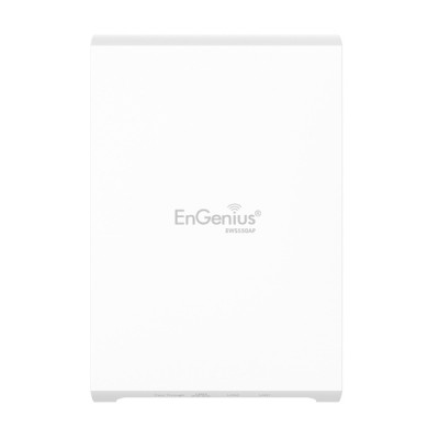 EnGenius EWS550AP Dual-Band AC1300 Wave 2 Indoor Wall-Plate Access Point, Speed 1300Mpbs, 4 x LAN Port, PoE Support