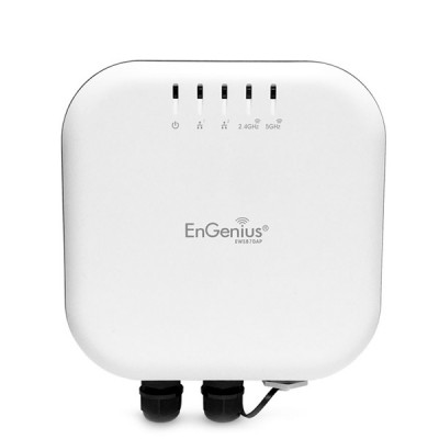 EnGenius EWS870AP Neutron 11ac Wave 2 Outdoor&Indoor Managed AP, 2.5Gbps Dual-Band 4x4 Internal Antennas, MU-MIMO&Beamforming, 2xGigabit LAN+PoE