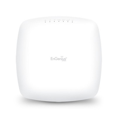 EnGenius EAP2200 EnTurbo Tri-Band 2.4/5/5GHz 11ac Wave 2 Indoor AP 2.1Gbps, MU-MIMO&Beamforming, 2xGigabit LAN+PoE, Ceileng-Mount