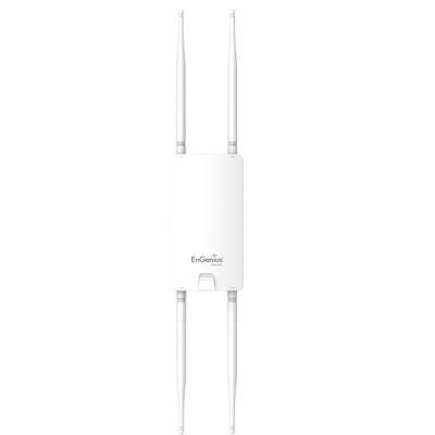 EnGenius ENS610EXT Dual-Band AC1300 Outdor&Indoor Wireless Access Point, 2-Port Gigabit LAN, 4 x5dBi Antennas