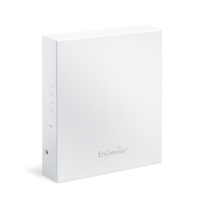 EnGenius EWS500AP Neutron Managed Wall-Plate Access Point, 2.4GHz Speed 300Mpbs, 4 x LAN Port, PoE Support