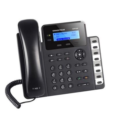 Grandstream GXP1628 Small/Medium Business IP Phone, SIP Enterprise 2 line with 2 SIP accouunt HD Voice, PoE & Gigabit Port