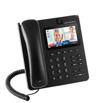 Grandstream GXV3240 IP Video Phone with Android 6 lines 6 SIP accounts, up to 6-way voice conferencing, Touch Screen WiFi and Bluetooth, Gigabit Port