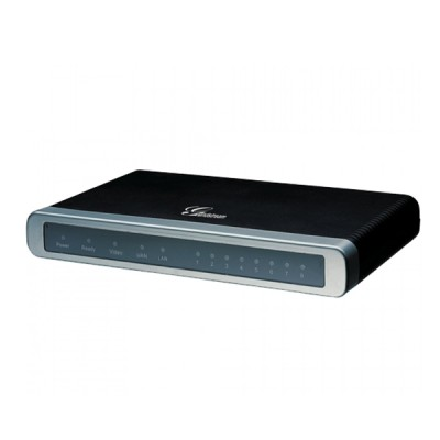 Grandstream GXW4108 Analog VoIP Gateway, 8FXO, 1 WAN & 1 LAN 10/100Mbps, Video Surveillance port, H.264 codec