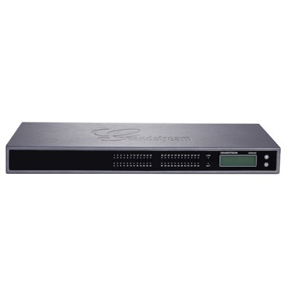 Grandstream GXW4248 Analog VoIP Gateway, 48FXS 4SIP Account, 2Port 50 Pin Telco Connectors, 1 LAN 10/100/1000Mbps, LCD Display