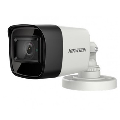 HIKVISION DS-2CE16H8T-ITF Analog 5MP High Performance Mini Bullet Camera, Day/Night 30m IR, Outdoor IP67 weatherproof