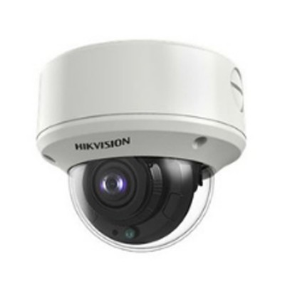 HIKVISION DS-2CE59H8T-VPIT3ZF Analog 5MP High Performance Dome Camera, Motorized Varifocal Day/Night 60m IR, IP67 + Vandal Proof