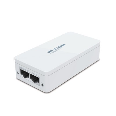 IP-COM PSE30G-AT : PoE Injector 802.3at 2-Port Gigabit, Plug and play, Distance 100 Meters