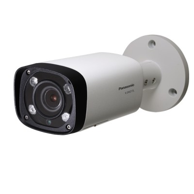 Panasonic K-EW215L01E IP Camera Box, Full HD 2 Megapixel 1080p, Lens 2.7-13.3 mm. Weatherproof with IR LED