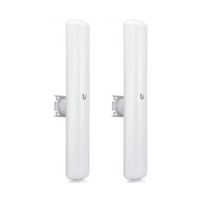 Ubiquiti LAP‑120-SET Point-to-point WiFi Link 3-5Km. 802.11ac, Freq 5GHz Hi-Speed 450+Mbps, Power 25dBm, Ant 16dBi, Configuration ready
