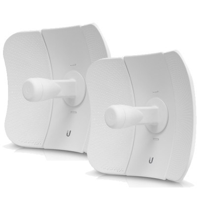 Ubiquiti LBE-5AC-23-SET Point-to-point WiFi Link 1-3Km. airMAX Management 802.11ac, Freq 5GHz Hi-Speed 450+Mbps, Power 24dBm, Ant 23dBi 2x2MIMO, Configuration ready