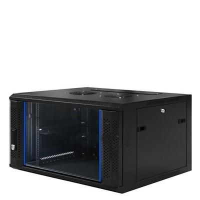 "LINK CW1-60406G 19"" Glass Wall Rack 6U (60x40x37cm) *ส่งฟรีเขต กทม."