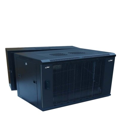 "LINK CW1-60406W 19"" Wave Perforate Wall Rack 6U (60x40x37cm) *ส่งฟรีเขต กทม."