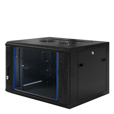 "LINK CW1-60409G 19"" Glass Wall Rack 9U (60x40x50.5cm) *ส่งฟรีเขต กทม."