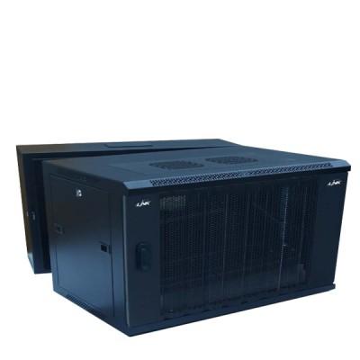 "LINK CW2-60506W 19"" Wave Perforate Wall Rack 6U (60x50x37cm) *ส่งฟรีเขต กทม."