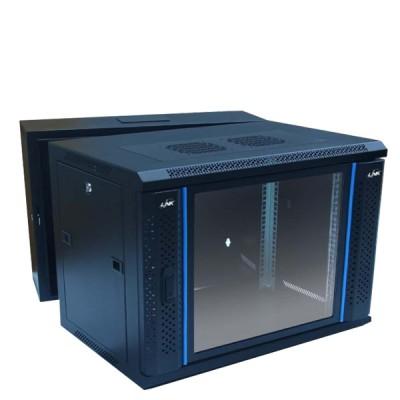 "LINK CW2-60509G 19"" Glass Wall Rack 9U (60x50x50.5cm) *ส่งฟรีเขต กทม."