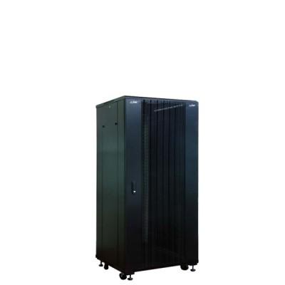 """Link CH-60627CW 19"""" Curve Wave Rack 27U, (60 x 60 x 140 cm.) Black *ส่งฟรีเขต กทม.และปริมณฑล"""