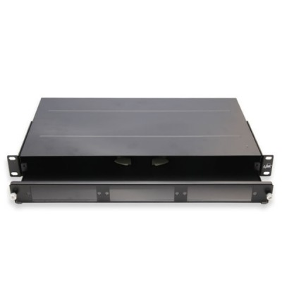 Link UF-2011A Fiber Optic Distribution Unit (FDU) 6-36F (3 Snap-In) Rack Mount Slide, 1U Depth 25 cm. Unload