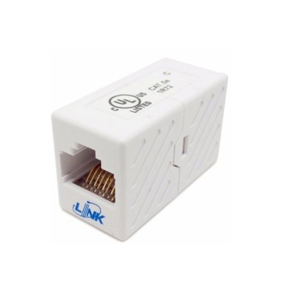 Link US-4005 In-Line Couplers Cat5E, RJ45 Jack to RJ45 Jack Splice
