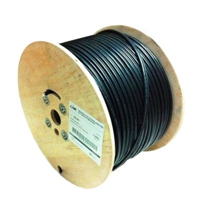 LINK US-9136PE CAT6 Outdoor F/UTP PE Cable, Bandwidth 600MHz, CMX Color Back, Single Jacket 305 M./Pull Box *ส่งฟรีเขต กทม.