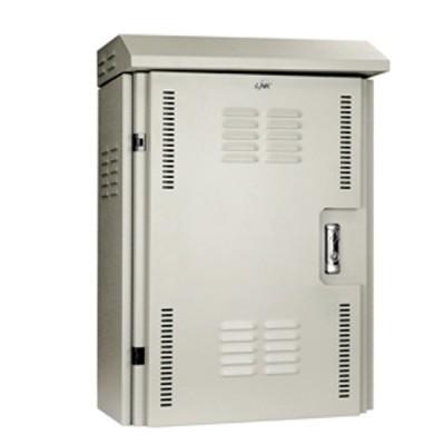 LINK UV-9012H-IP55 Two Layer Door CCTV Outdoor Steel Cabinet (H68 x W48 x D26.8)